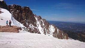 Colorado pikes peak Stock Images