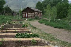 Colorado Pioneer Cabin Stock Photography