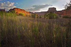 Colorado Plateau Sunset Stock Image