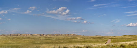 Colorado prairie panorama Royalty Free Stock Photography