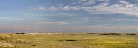 Colorado prairie panorama Royalty Free Stock Images