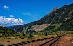 Colorado Railroad. In silverton colorado Royalty Free Stock Image