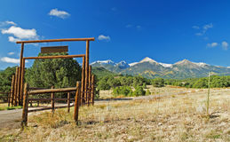 Colorado Ranch Country Royalty Free Stock Photography