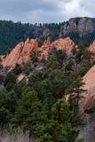 Colorado Red Rocks Open Space Colorado Springs stock photos
