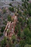 Colorado Red Rocks Open Space Colorado Springs stock photography