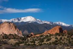 Colorado redrock. Colorado colorado red rock landscape royalty free stock photography
