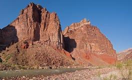 Colorado River. Hance Rapids on Colorado River in Grand Canyon Stock Photos