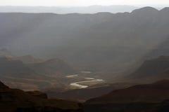 Colorado River. The Colorado as it meanders through the Grand Canyon Stock Photo