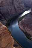 Colorado River. At Horseshoe Bend near Page, Arizona Stock Image