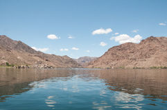 Colorado River. The Colorado River below the Hoover Dam Royalty Free Stock Photos