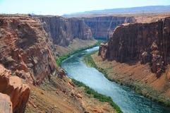 Colorado River. View of Colorado River, Page, Arizona, US Royalty Free Stock Photo