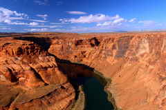 Colorado River in Arizona Stock Photography