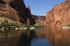 Colorado River, Arizona, USA Royalty Free Stock Image