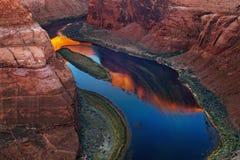 Colorado River, Arizona, USA Stock Image