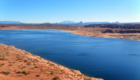Colorado river. Arizona Royalty Free Stock Photos