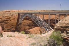 Colorado river bridge Royalty Free Stock Images
