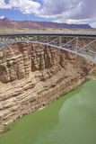 Colorado River Bridge Lees Ferry Royalty Free Stock Image