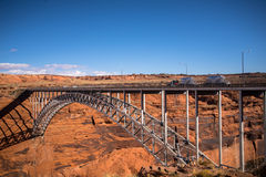 Colorado River Bridge Stock Photography