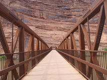 Colorado River Bridge Royalty Free Stock Photos