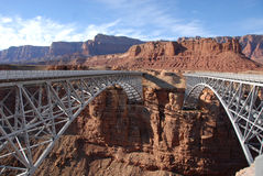Colorado River bridges Stock Photography