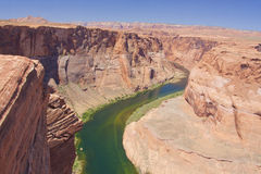 Colorado River Canyon Royalty Free Stock Photo