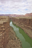 Colorado River in Marble Canyon Stock Photo