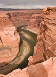 Colorado River Canyon Royalty Free Stock Photography