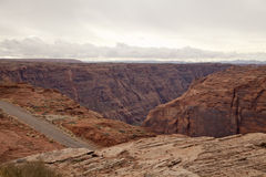 Colorado River Canyon Stock Image