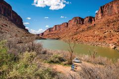 Colorado River Canyon Royalty Free Stock Photography