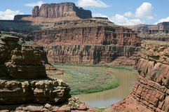 Colorado River, Canyonlands National Park Stock Photography