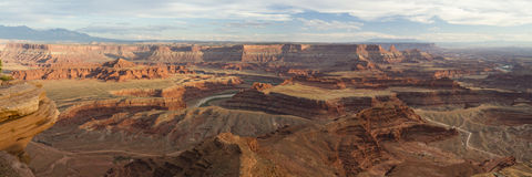 Colorado River Canyons from Dead Horse Point Royalty Free Stock Images