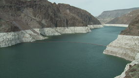 Colorado river entering hoover dam timelapse. Video of colorado river entering hoover dam timelapse stock footage