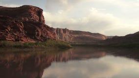 Colorado River Flows Utah Wilderness Desert Southwest stock video