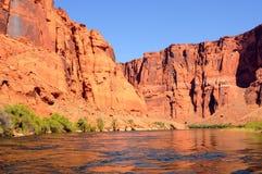 Colorado River Glen Canyon Stock Image