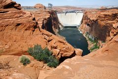 Colorado river in Glen Canyon Stock Photos