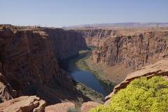 Colorado River in Glen Canyon (Arizona, USA). Cameron, view on Colorado river, Glen Canyon, Arizona USA royalty free stock photography