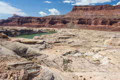 Colorado River in Glen Canyon National Recreation Area Stock Photography