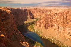 Colorado River Gorge Royalty Free Stock Image