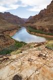 Colorado River in Grand Canyon Stock Photos