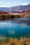 Colorado River at the Grand Canyon Royalty Free Stock Image