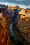 Colorado river in Grand Canyon. Toroweap Point in Grand Canyon national park, USA royalty free stock photography
