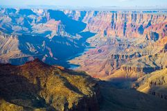 Colorado river in Grand Canyon Stock Image
