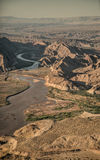 Colorado River in the Grand Canyon Royalty Free Stock Images