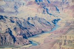 Colorado River at Grand Canyon South Rim, Arizona, US Royalty Free Stock Image