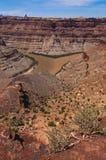Colorado River and Green River confluence Royalty Free Stock Photos
