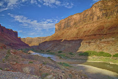 Colorado River HDR Landscape Royalty Free Stock Photo