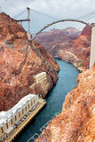 Colorado River Hoover Dam Stock Photography