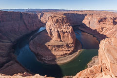 Colorado river Horse shoe bend Royalty Free Stock Photos