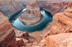 Colorado river Horse shoe bend Royalty Free Stock Photo