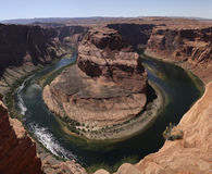 Colorado River at Horseshoe Bend in Arizona Royalty Free Stock Images